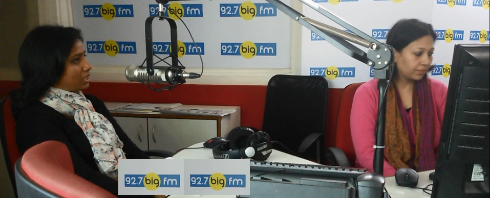 Feeling excited at 92.7 BIG FM<br/><br/>